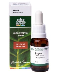Óleo Vegetal Argan WNF - Seleção Exclusiva - 20ml