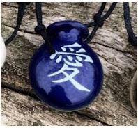 Aromatizador Pessoal - Cantil Azul - Símbolo Amor