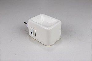 Aromatizador Elétrico de Cerâmica - Branco - Mística