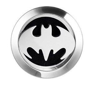 Pulseira Aromático  Ajustável de Silicone - Batman - Cor Preta