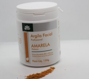 Argila Amarela Natural WNF - 150g