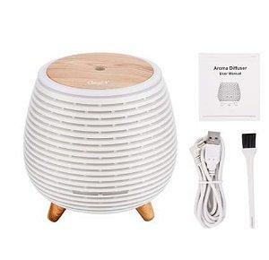Difusor/Umidificador Ultrassônico 7 Luzes Led - AROMA DIFFUSER - 550ml