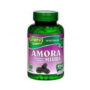 Amora Miura Com Vitaminas de C e Zinco Unilife Cápsulas
