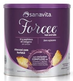 FORCEE HAIR & NAILS SABOR ABACAXI COM HORTELÃ