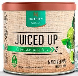Juiced up matcha e limão 200g