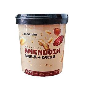 Pasta de Amendoim com Avelã e Cacau Mandubim 450g