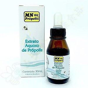 Extrato de Própolis solução Aquoso MN 30 ml