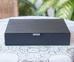 Caixa box preta 20x25 Elegance