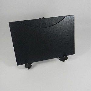 Envelope  Linha Metalizado Preto Mod.EN1500 - 15,5x21cm