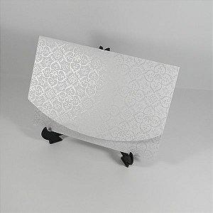 Envelope Branco com Adamascado Pérola Mod.EN1700 - 15x21cm