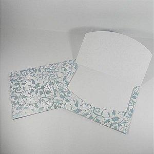 Envelope Branco com Floral Tiffany 01 Mod.EN1700 - 15x21cm