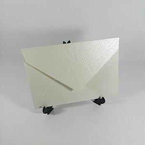 Envelope Metalizado Pérola Couro  Mod.EN3100 - 15x21cm
