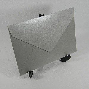 Envelope Metalizado Prata Mod.EN3100 - 15x21,5cm