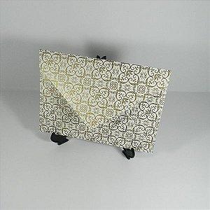 Envelope Pérola com Adamascado Mod.EN3100 - 15x21,5cm