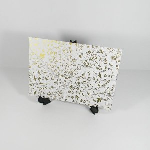 Envelope Branco com estampa dourada 03 Mod.EN3100 - 15x21,5cm