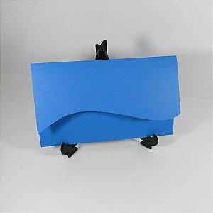Envelope Onda  Azul Grecia Color Plus - tam:13x21 - 20 unids