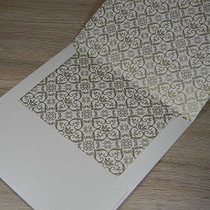 Envelope para convite com estampa invertida - Mod. EN4000 - tam:19,5x19,5cm