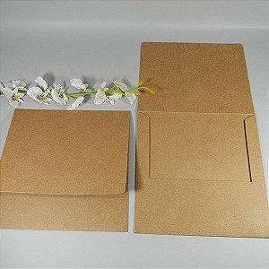 Envelope Kraft/Rustico para convites  Mod.EN4000 - 19,5x19,5cm