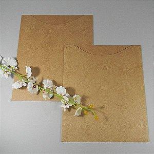 Envelope canoa rústico para convite - EN4300 - 19x23cm