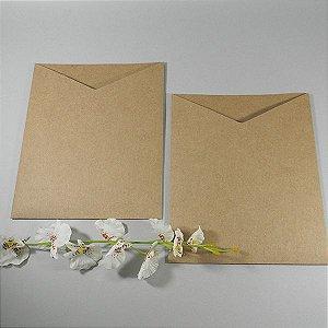 Envelope rústico liso Mod.EN3400 - 16,5x20cm