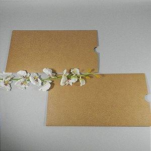 Envelope luva rústico para convite Mod.EN1600 - 13x24,5cm