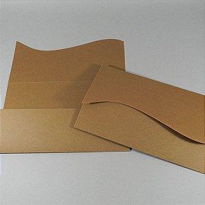 Envelope rústico marrom claro  Mod.EN1010 - 13x21cm