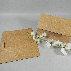 Envelope rústico liso  Mod.EN1020 - 10x15cm