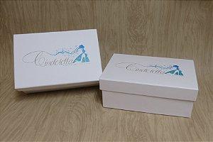 Caixa para sapato personalizado 31x20x12cm (área ùtil)