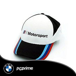 Boné BMW Motorsport COR BCO/PTO Unissex