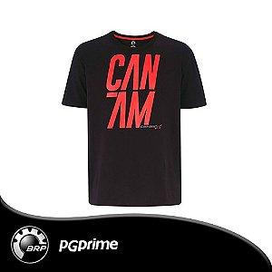 Camiseta Can-am X-Team, Preta