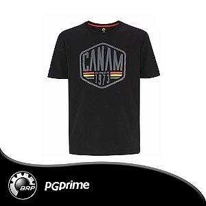 Camiseta Intrusion, Preta