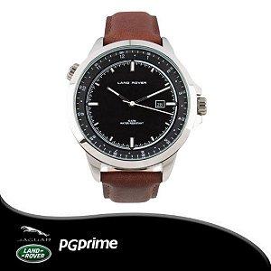 Relógio Clássico - Land Rover - Preto e Marrom