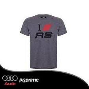 Camiseta I Love RS Masculina Sport Audi Cinza Mes