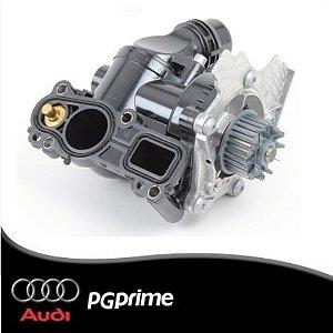 Regulador Refrigeração com Bomba de Água Audi A5 A6 Q3 Q5...