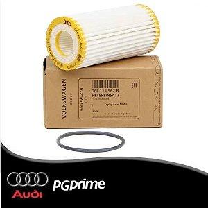 Elemento do Filtro de Óleo com Junta Audi A3, A4, A5, A6...
