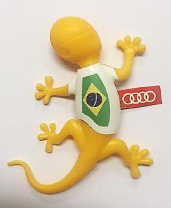 Gecko Camisa Brasil - Aroma amadeirado