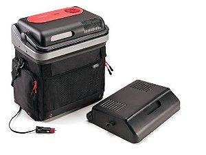 Geladeira (cooler portátil 12v) com função de aquecimento.