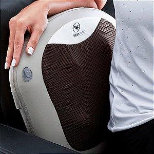 massagem relaxante com massageador encosto aquecido relaxmedic