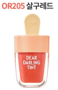 Etude House Dear Darling Water Gel Tint Ice Cream #OR205 Apricot Red 4.5g