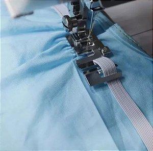 Sapata Pé Calcador para Passar Elástico Em Maquina de Costura Domestica