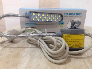 Lampada 20 Leds Para Maquina De Costura Industrial E Domestica BIVOLT