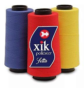 Linha Para Costura Setta Xik 5000j (caixa Com 10 Cones)