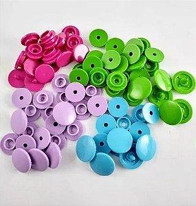 Botões Ritas tic tac tip top Pacote Com 200 Unidades N° 10, 12 E 15