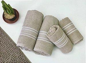 Jogo de toalha linea 4 peças - Camesa