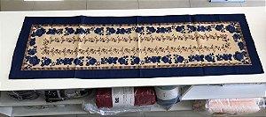 Caminho de mesa rústico 40cm x 1,40m - Raner