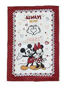 Pano de prato Mickey & Minnie - Dohler