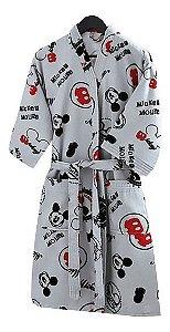 Roupão Adulto Mickey - Licenciado Disney  - Tamanho-p Dohler
