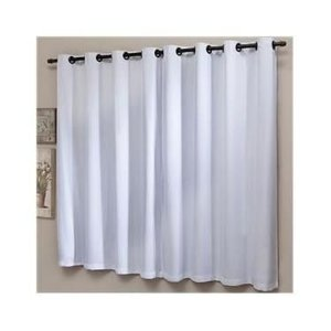 cortina madras para varão simples com ilhós 2x1,80m