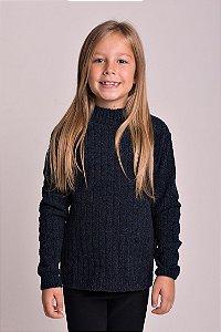 Blusão Tricot Trabalhado Infantil