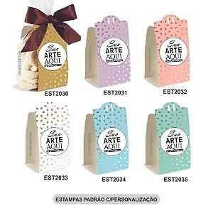 Embalagem para Biscoitos Estampas Padrão e c/Personalização – Mod.: EBE2000